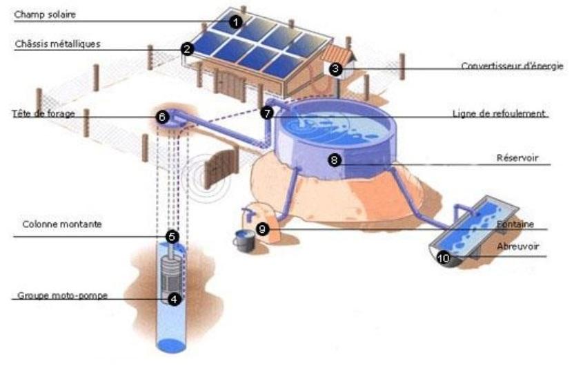Sigg syst me d 39 irrigation goutte goutte pompage - Systeme de goutte a goutte maison ...