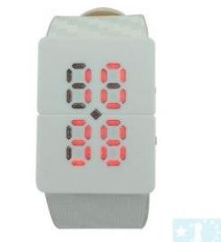 Grossiste, fournisseur et fabricant lw30/red led fancy crystal digital binary wrist watch white