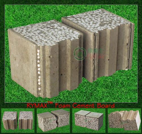 Rymax mousse de panneaux de ciment ext rieur cloison for Panneau ciment exterieur
