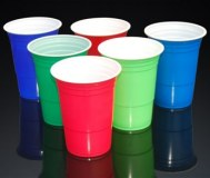 Wholesale 16oz 450ml Disposable PS Plastic American Red Solo Cup for Party with Custome...