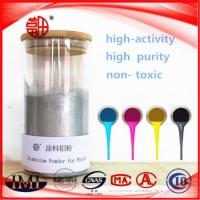 Poudre d'aluminium pour peinture Pigment application Varnishes