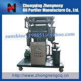 Petit aspirateur compact Transformateur Système de filtration d'huile, Dégazage Solutio...