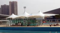 Sales Office Membrane Structure,Park Membrane,entrance ,Fabric