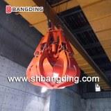 Electro-Hydraulic orange peel grab bucket for ship