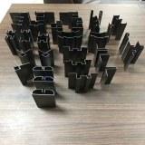 Customized inox corner tile trim black titanium ceramic wall tile trim