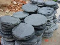 Black Slate Stepping Stone