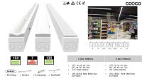 Système d'éclairage linéaire pour supermarché