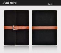 Mallette style Etui housse cuir simili pour iPad Mini