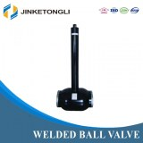 JKTL High Pressure Fully Welded Ball Valve with Extension Rod