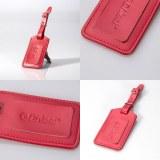 Women PU Leather Luggage Tag
