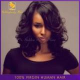 6A Brazilian Virgin U Part Wig Human Hair Short Bob Unprocessed Full Lace/Front Lace /U...
