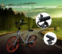 Multifunctional Led Speakers Flashlight Music Torch Bike Cycling Bluetooth Mini Speaker...