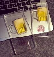 Beer Glass Liquid Phone Case for iPhone 6Plus