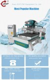 Atc cnc router woodworkinng machine with ATC Tool Changer R4