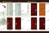 Wood Grain Steel Door