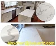 Kimria quartz prix abordable blanc carrara quartz meilleurs comptoirs