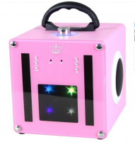Light Show Bluetooth Speaker Pink