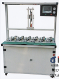 Sell angle valve, tap assembly and leak test machine
