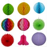 Party decorations, party favors, paper honeycomb ball, wedding decorations