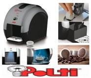 Machine à café espresso avec capsules