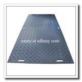 La meilleure qualité de l'ingénierie plastique noir HDPE plaque de route en plastique