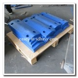 UHMWPE protection en plastique durable visage face pad