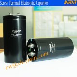 Industry Capacitor Screw Lead Electrolytic Capacitor RoHS Compliant