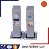 Laser fence alarm boundary security system