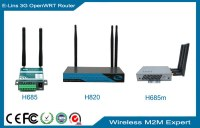 Industrial 4G WiFi Router, Wireless 3G 4G Mobile Router for M2M