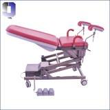 JQ-02C chaise de livraison médicale électrique chaise d'examen de gynécologie portable