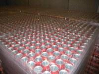 Cocacola Fanta and sprite..