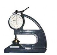 Waterproof coiled material thickness gauge