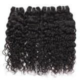 Brazilian Virgin Human Hair Water Wave 3 Bundles