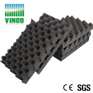 egg crate mousse acoustique utilisation en studio import. Black Bedroom Furniture Sets. Home Design Ideas