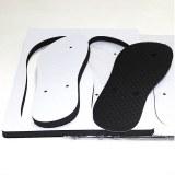 Heat Transfer Print Rubber Board Blank Sublimation Flip Flops