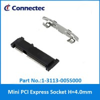 1-3113-005S000 Mini PCI Express Socket H=4.0mm