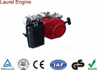 Double Silent and Cyclone Type 7HP OHV Gasoline 170F Engine Displacement 210cc