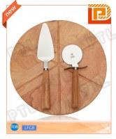 3-piece cheese set(spatula & knife &cutting board
