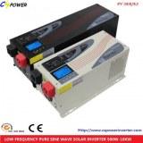 Fabricant onde sinusoïdale pure onduleur solaire PV12 / 24 / 48-3000W avec Chargeur AC