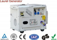 5/5.5kW Super Silent Gasoline Generator Single Phase Recoil & Electric Start