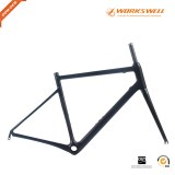 V Brake Racing Geometry Road Carbon Frame Designed For Endurance racing bike