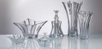 Vase , Bowl , Plateau, Chandelier- Cristal glass