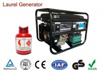 Single / Three Phase Small Natural Gas Generators Air-cooled Portable Compact