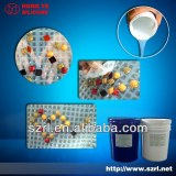 Transparent silicone rubber