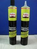Collapsible aluminum glue tube