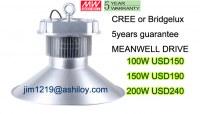 Lampe à del d'éclairage / 150W industrielle hall d'exposition de la lampe se usine d'éc...