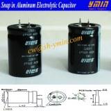 Power Capacitor Snap in Electrolytic Capacitor For Solar PV Power Inverter Solar Photov...