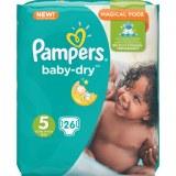 Pampers 26x baby dry N°5 (multi)