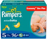 Pampers Active Baby Dry 96 pc. N°5 (11-18 kg) (multi)