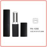 Pa-1056 tube de rouge à lèvres rouge carré noir mat conteneurs vides